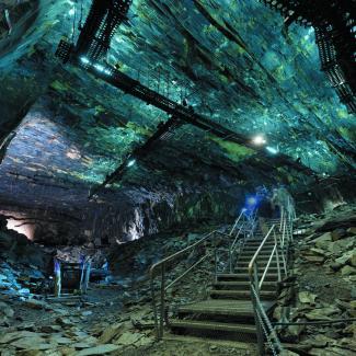 Noyant-la-Gravoyère - La Mine Bleue